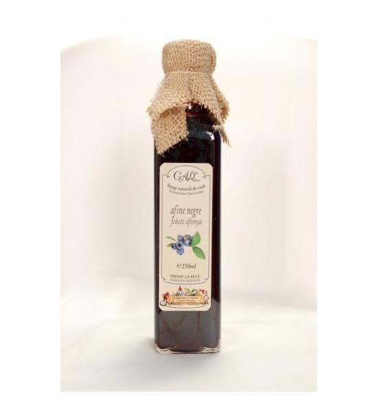 Blueberry syrup glassy in 500 ml