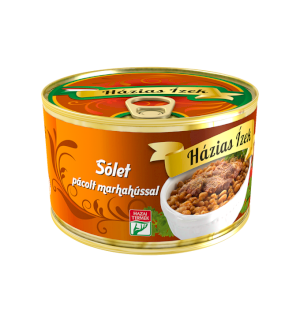 Hungarian cholent (sólet) with beef 400g Beens with marinated beef