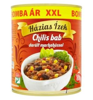 Chili Beans with Minced Beef 800 g