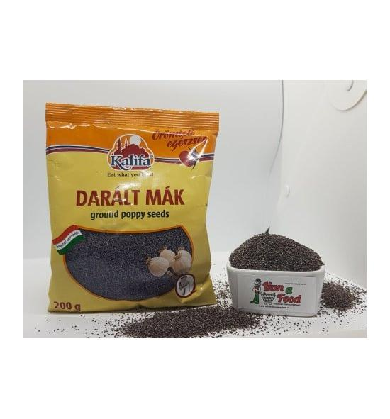 Ground poppy seeds 200g